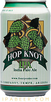 hop knot beer can